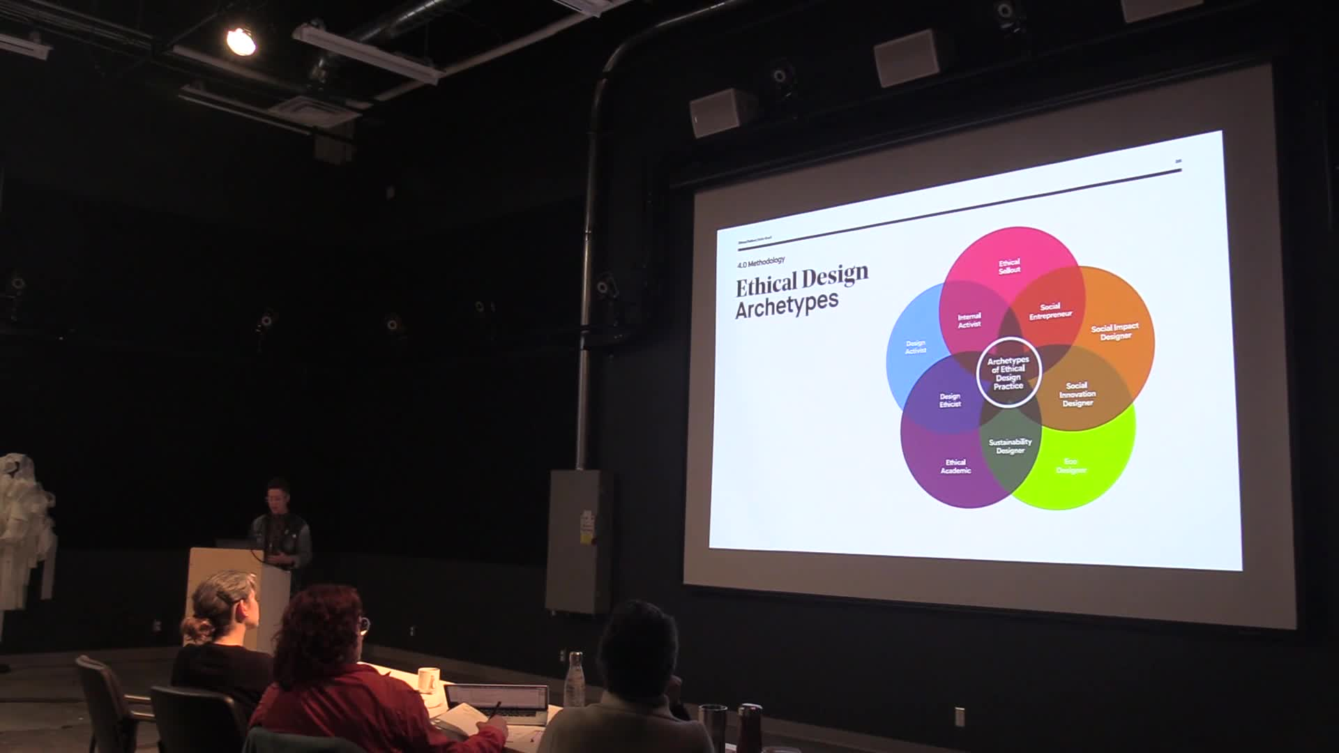 Ethical Sellout: Refining Standards of Ethics in the Commercial Design Industry, defence video part 1