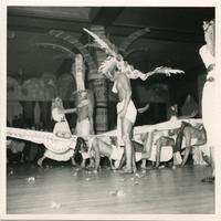 Beaux Arts Ball, night of the golden crocodile, 1959.