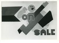 Art sale poster, date unknown.
