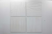 """""White-On-White"""" series Part ll """"Painting With Canvas"""""